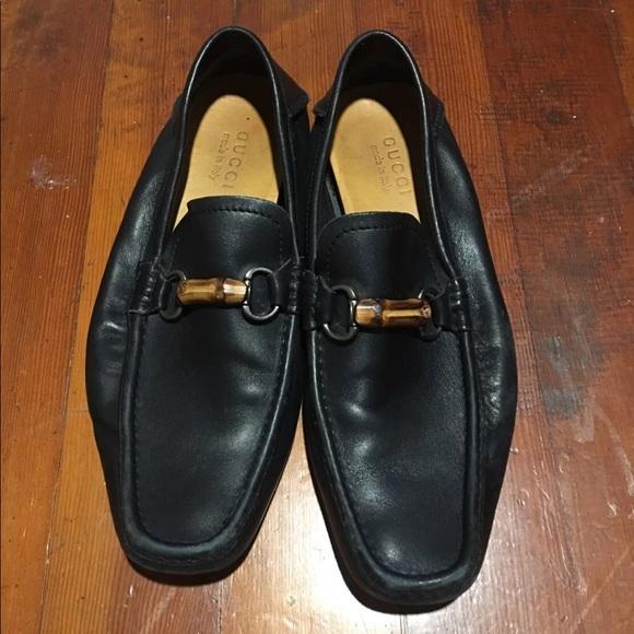 5e536425e3ca Gucci Other - Gucci Mens Loafers Mocassins w  Bamboo Horsebit